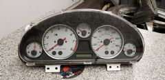 MAZDA MX5 MK2.5  2001 - 2005 -  INSTRUMENT POD / SPEEDO  GAUGES - GREY /  SILVER